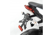 SUPPORT DE PLAQUE SPT07 Street Triple 675 2013