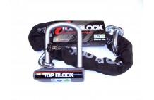 Antivol avec chaine TOP BLOCK SILVER 120CL10