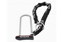 Antivol avec chaine TOP BLOCK SILVER 320CL11